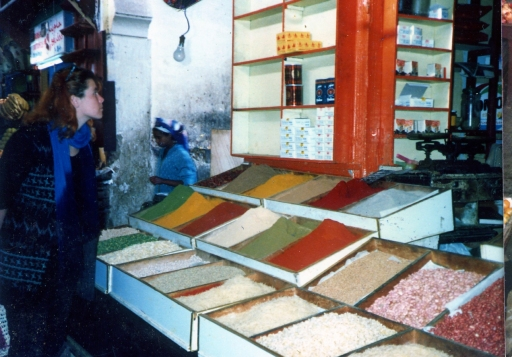 Spices sold at Souk